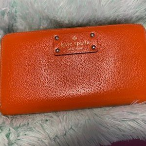 ♠️ kate spade Neda Wellesley Wallet - Orange